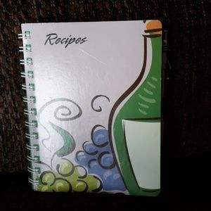 118 page Recipe book NWOT